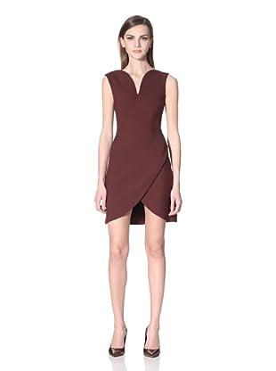 Versus Women's Modern Shift Dress (Burgundy)