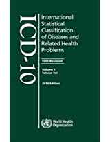 The International Statistical Classification of Diseases and Related Health Problems ICD-10 2010: Package of Volume 1 2 and 3 (Not Sold Separately)