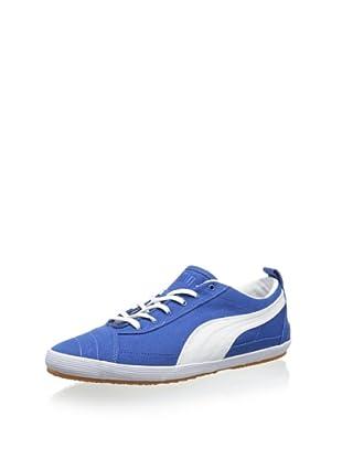 PUMA Serve Pro Canvas Fashion Sneaker (Snorkel Blue/White)