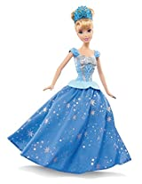 Mattel Disney Princess Twirling Skirt Cinderella Doll, Multi Color