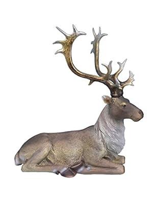 Sitting Reindeer, Brown