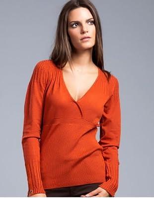 Cortefiel Pullover (Orange)