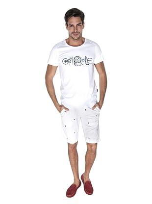 Giorgio Di Mare Camiseta Willem (Blanco)