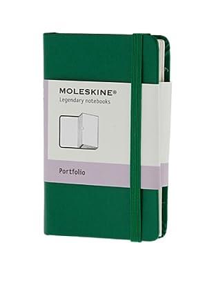 Moleskine Portafolio Verde