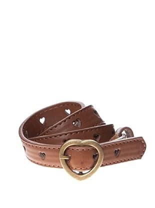 Springfield Cinturón Troquelado Heart (marrón)