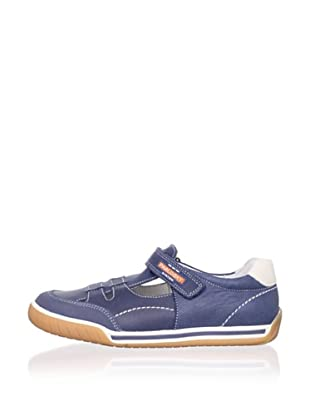 Pablosky Kid's Cutout Sneaker (Blue)