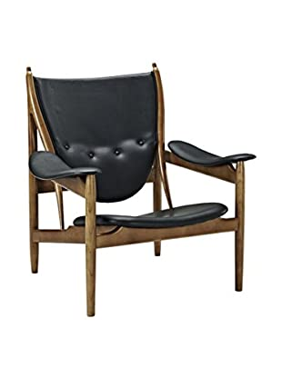 Modway Warrior Lounge Chair (Black)