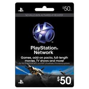 PLAYSTATION Network Card $50 (輸入版:北米:プレイステーションネットワークカード)
