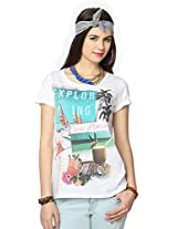 People Women's Printed T-Shirt