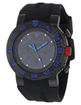 red line Men's 50027-BB-01BL RPM Black/Blue Watch
