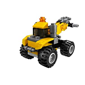 レゴの牽引車