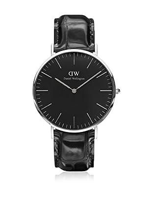Daniel Wellington Reloj con movimiento cuarzo japonés Man black 40 mm