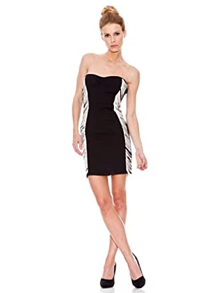 Rare Vestido Fringe (Negro)