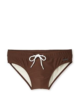 Parke & Ronen Men's Meridian Bikini (Brown)