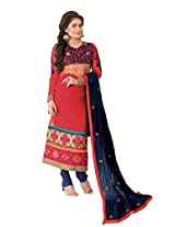 Designer Suits for Women's Resham Embroidery Suits Party Wear and Wedding Wear Fashionable Suit