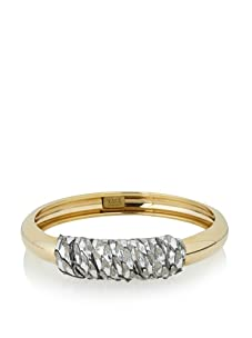 Kara Ross Python Metal Bangle
