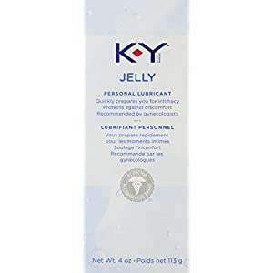 Special Pack of 5 KY JELLY LUBRICATE 4 oz J&J CONSUMER SECTOR