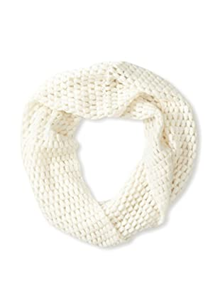 Qi Cashmere Women's Effervescent Snood (White)
