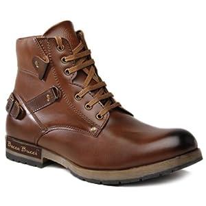 Bacca Bucci Brown Men Boots - Skel4000