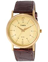 Timex Classics Analog Multi-Color Dial Unisex Watch - TI000R41100