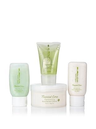 Bubalina Tropical Lime Small 4-Piece Gift Set