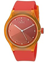 Noon Copenhagen Noon Copenhagen Unisex 33-067Ds11 Orange Dial Watch - 33-067Ds11