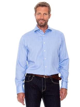 Cortefiel Camisa Lisa (Azul)