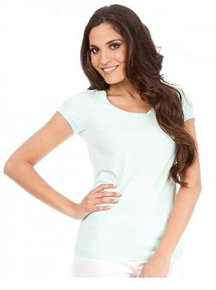 Cortefiel T-Shirt (Aqua)