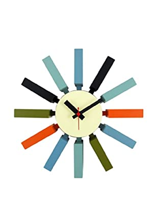 George Nelson Block Clock, Multi
