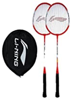 Li-Ning Smash Xp 709 Badminton Raquet (Pack Of 2)*