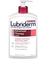 Lubriderm Advanced Therapy Lotion for Extra-Dry Skin, 16 Oz