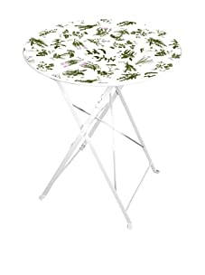 Esschert Design Herb Print Bistro Table