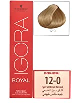 Igora Royal 12-0 Special Blonde Natural Hair Colour-60ml