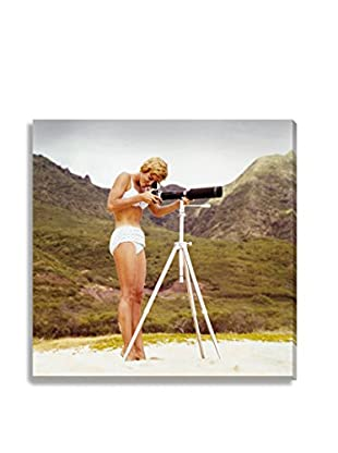 Photos.Com By Getty Images Bikini Girl And Camera By Tom Kelley On Canvas