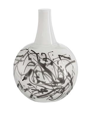Kosta Boda Scribble Vase (White)