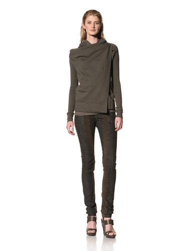 RICK OWENS Women's Wrap Jacket (Dark Dust)
