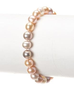 Radiance Pearl 7-8mm Multicolor Freshwater Pearl Bracelet