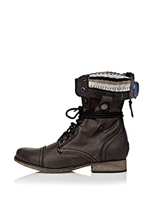Steve Madden Botines Charger (Cablee) (Negro)