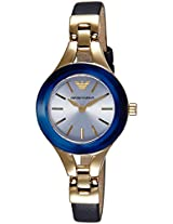 Emporio Armani Analog Mother of Pearl Dial Women's Watch - AR7393