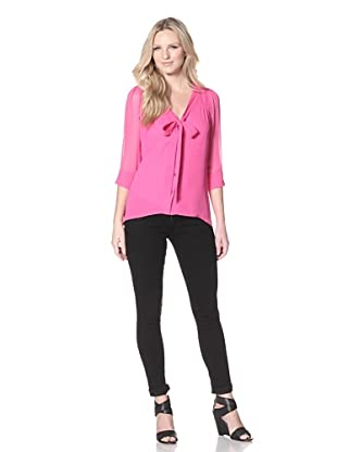 AS by DF Women's Pure Heart Top (Shocking Pink)