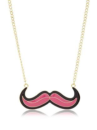 Poète Collar Mustache Bicolor (Rosa)