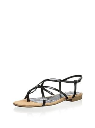 Rockport Women's Nahara Strappy Sandal (Black)