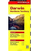 Darwin Travel Map First Edition (Australia Regional Maps)