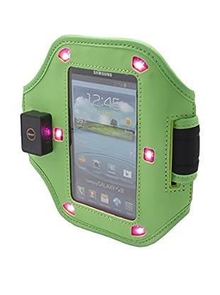Unotec Brazalete Con Luz Led Verde Universal Para Smartphones