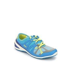 Lee Cooper Bleu Running Shoes