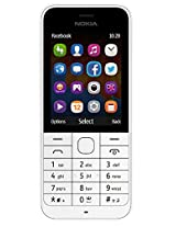 Nokia 220 RM-971 Unlocked GSM 850 / 1900 Cell Phone w/ 2MP Camera - White