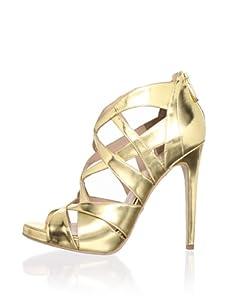 Alejandro Ingelmo Women's Via Multi-Strap Sandal (Gold)
