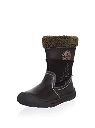 Billowy Kid's Footprint Boot (Brown)