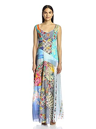 Johnny Was Women's Patchwork Maxi Dress