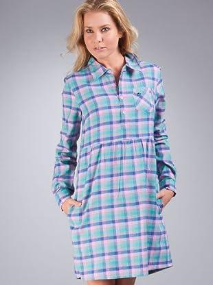 Billabong Vestido Electrique (azul / lila)